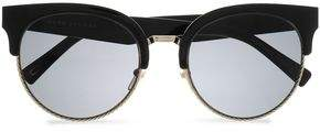 Marc Jacobs D-Frame Acetate And Silver-Tone Sunglasses
