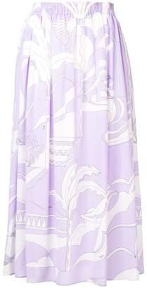 Print Mid Length Skirts - ShopStyle Australia