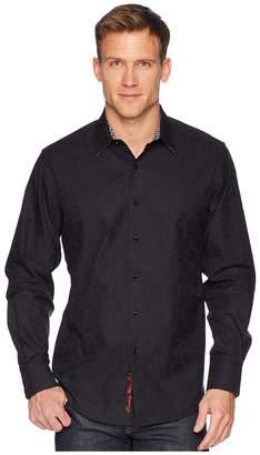 Robert Graham Cullen Sport Shirt Men's Long Sleeve Pullover