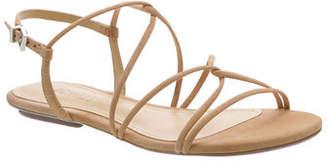 Schutz Boyet Flat Suede Sandals