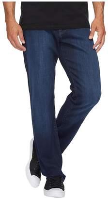 Mavi Jeans Myles Mid-Rise Straight Leg in Deep Clean Comfort Men's Jeans
