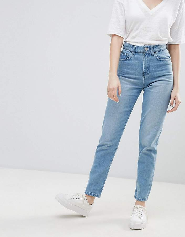 – Elsa – Mom-Jeans mit hohem Bund