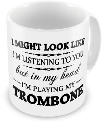 Tiffany & Co. Vincent In My Head I'M Playing My (Trombone) Funny Novelty Gift Mug 11oz