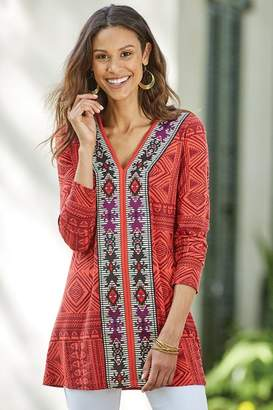 Soft Surroundings Kalahari Tunic