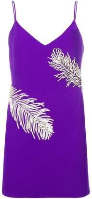 David Koma slip-on mini dress