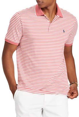 Polo Ralph Lauren Classic Fit Striped Cotton Logo Polo
