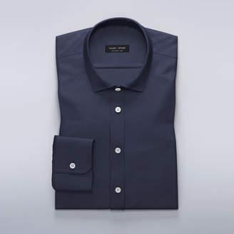Dark sky blue dress shirt