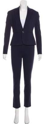 Ralph Lauren Black Label Logo-Embellished Two-Piece Pantsuit Set