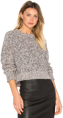 T by Alexander Wang Crop Crewneck Pullover $325 thestylecure.com