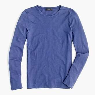 J.Crew Long-sleeve crewneck T-shirt in slub cotton