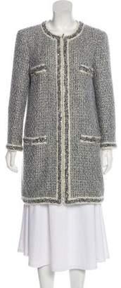 Chanel Iridescent Tweed Coat