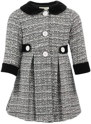 Blueberi Boulevard Baby Girls 2-Pc. Tweed Coat & Party Dress