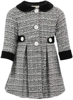 Blueberi Boulevard Baby Girls 2-Pc. Tweed Coat & Party Dress