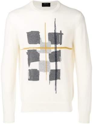 Ermenegildo Zegna printed sweatshirt