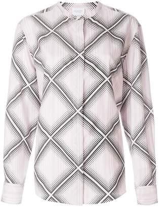 Giambattista Valli diamond pattern shirt