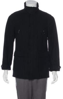 Burberry Wool Field Jacket black Wool Field Jacket