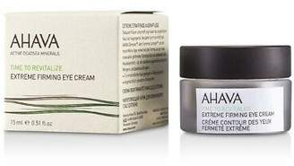 Ahava NEW Time To Revitalize Extreme Firming Eye Cream 15ml Womens Skin Care