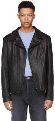 Schott Black Raven Perfecto Leather Jacket