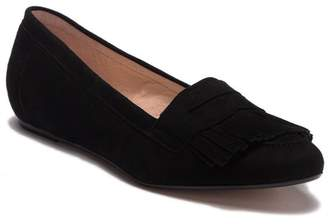 Patricia Green Kiltie Suede Loafer Flat