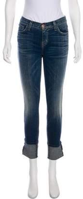 Current/Elliott Cuffed Mid-Rise Jeans w/ Tags