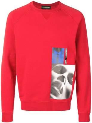 DSQUARED2 x mert & marcus 1994 pullover sweatshirt