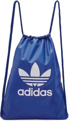 adidas Blue Trefoil Gym Backpack