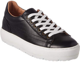 59f53e106eed Navy Leather Sneakers - ShopStyle
