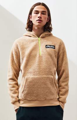 Young & Reckless Arctic Sherpa Quarter Zip Hoodie