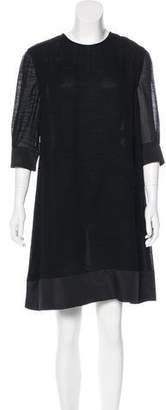 Proenza Schouler Long Sleeve Knee-Length Dress