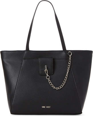 Nine West Black Xylia Tote