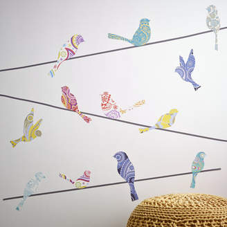 Birch Lane Kids Bird on Wire Wall Decal Set