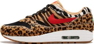 Nike 1 DLX 'Atmos Animal Pack 2.0' - Wheat/Sport Red