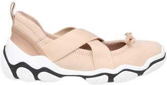 RED Valentino Sneakers In Neoprene Nude Color
