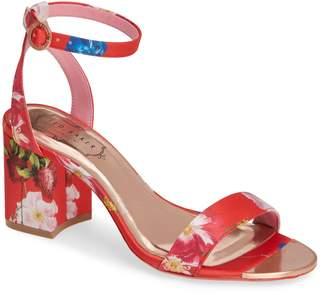 d2e110636e Ted Baker Rozie Block Heel Sandal
