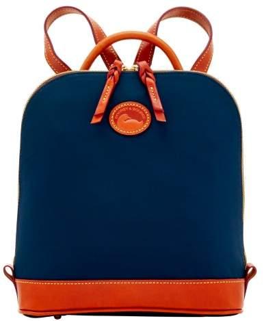 Dooney & Bourke Nylon Zip Pod Backpack - NAVY - STYLE