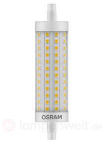LED-Stablampe R7s 15W, warmweiß, dimmbar