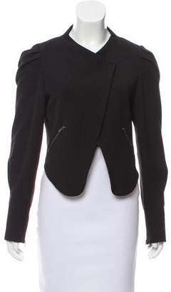 Vena Cava Asymmetrical Woven Jacket