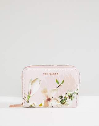 Ted Baker small zip purse in harmony floral