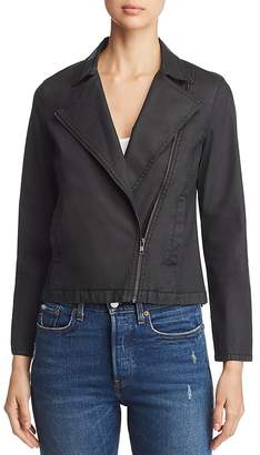Eileen Fisher Petites Cropped Moto Jacket
