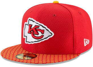 New Era Kansas City Chiefs Sideline 59FIFTY Cap