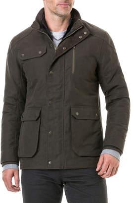 Rodd & Gunn Men's Harper Waxed Field Jacket