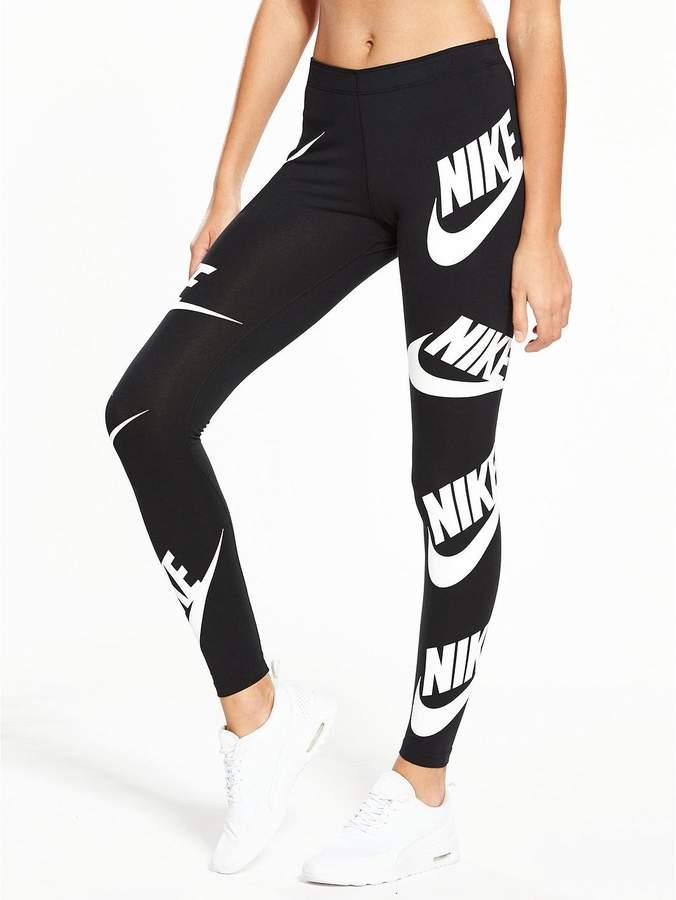 Sportswear Overall Print Leg A See Legging