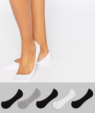Asos DESIGN 5 pack pop socks