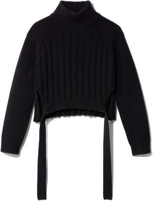 Proenza Schouler Cropped Turtleneck Sweater