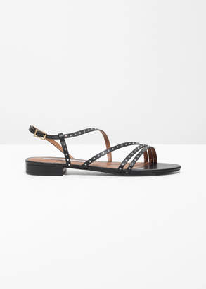 And other stories Jewelled Multi Strap Sandals