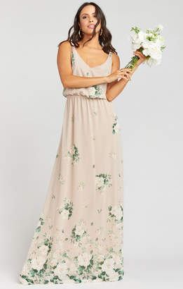 14495d00dd1 Show Me Your Mumu Kendall Maxi Dress ~ Bouquet Toss