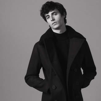 Sandro Woolcloth pea coat