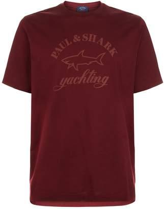 Paul & Shark Tonal Shark Logo T-Shirt