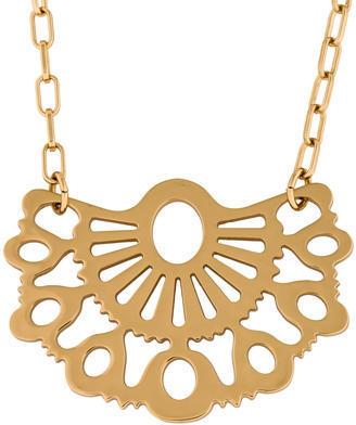 Tory BurchTory Burch Fan Pendant Necklace
