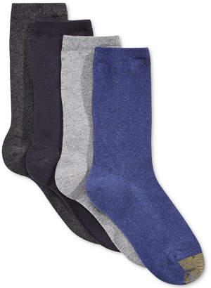 Gold Toe Women 4-Pk. Flat Knit Solid Socks
